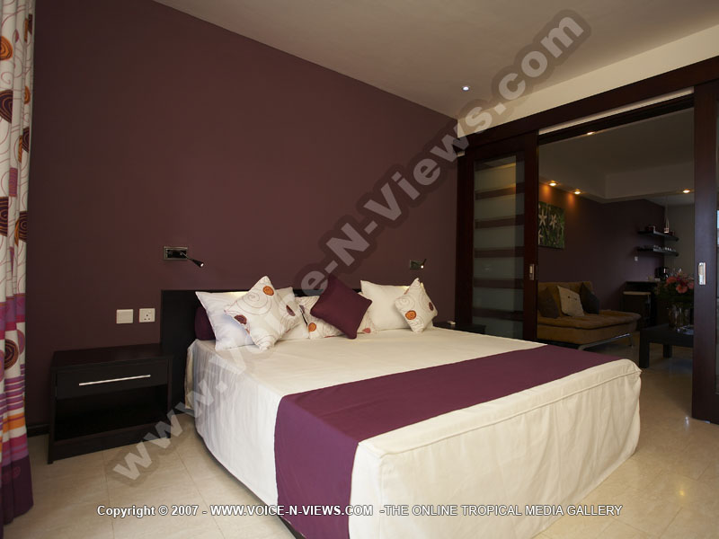 Click To View Full Size Image Standard Studio Apartment Grand Bay Mauritius Ref 109 Bedroom