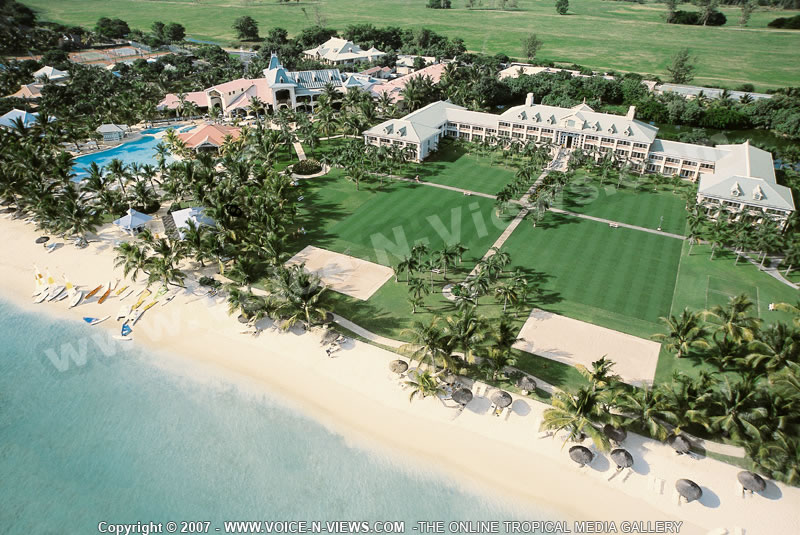 Click To View Full Size Image 4 Star Hotel Sugar Beach Resort Aerial